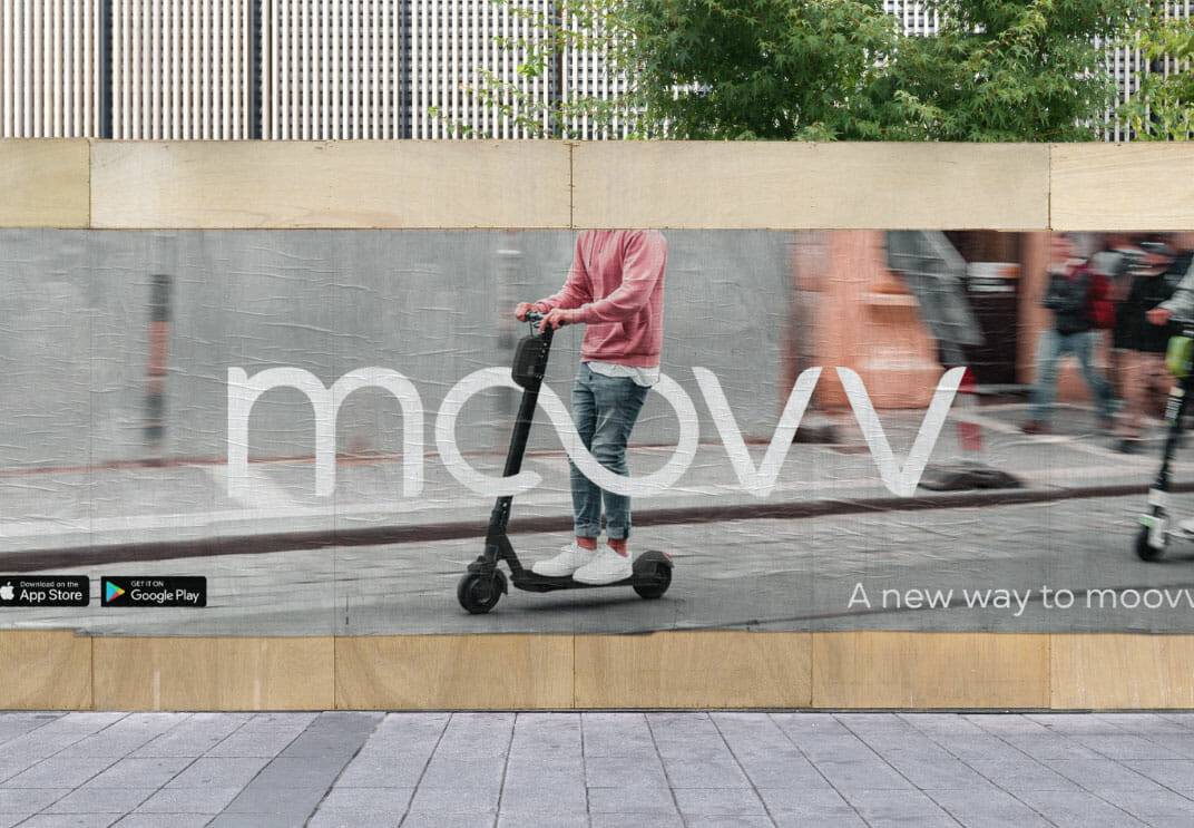 Moovv - The new way to explore.
